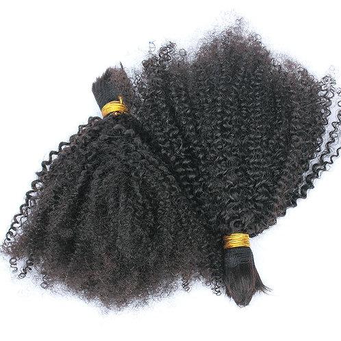 7A Kinky Curly Braiding Bundles