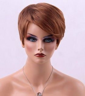 9A Strawberry Blonde Short Wig
