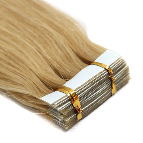 20pc Golden Blonde Tape-In Extensions