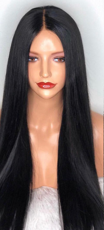 Miracle Hair Wholesale 9A Mink Long Luxury Mink Lace Front Wig 30 Inch