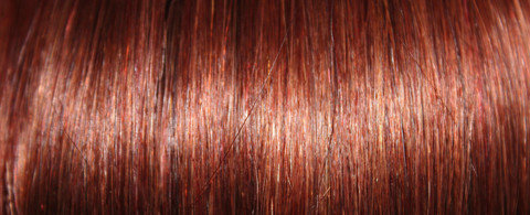 Full Head Human Clip-In Vibrant Red