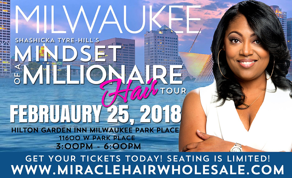 Mindset of a Millionaire Milwaukee with Shashicka Tyre-Hill