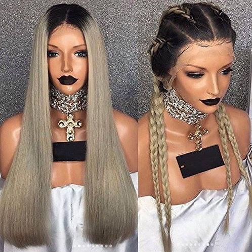 Nikki 9A 1B/Grey Full Lace 20inch Wig