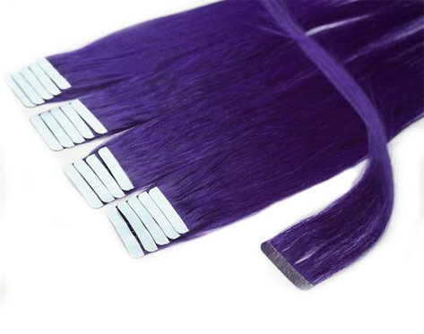 20pc Purple Tape-In Extensions