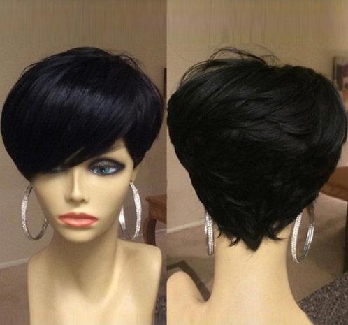 9A Mink Pixie Slay Wig