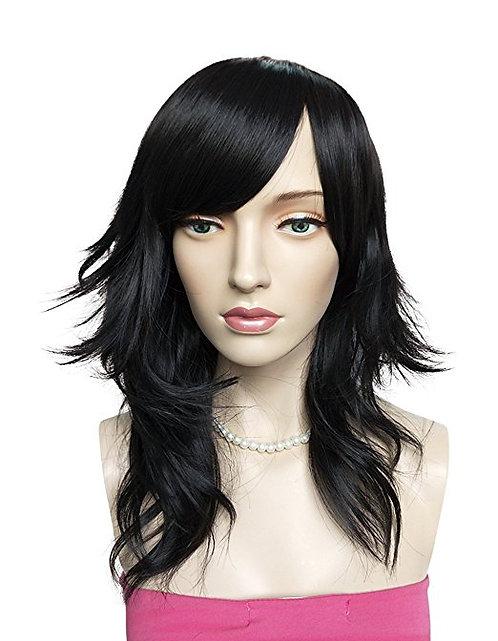 Sheena Black Synthetic Wig