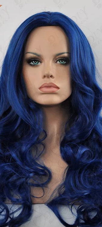 9A 22 inch Blueberry Straight Lace Front Wig