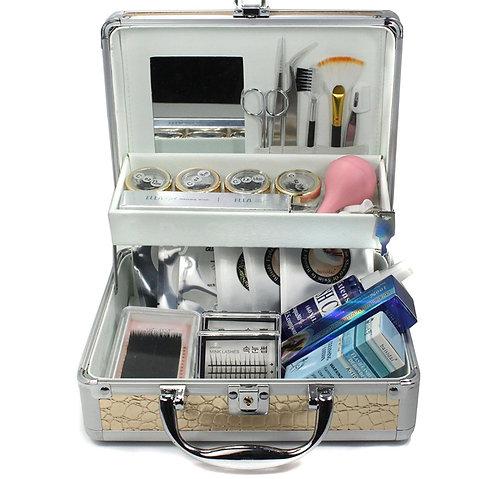 Professional Single Mink Eyelash Individual Extention  Full Kit