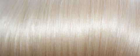 Full Head Human Clip-In Bleach Blonde