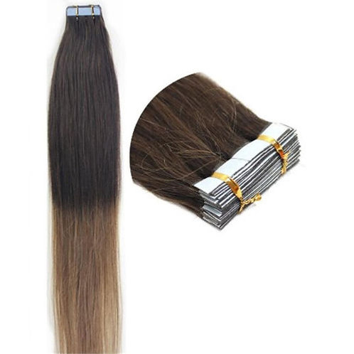 20pc Ombre T2/12 Tape-In Extensions