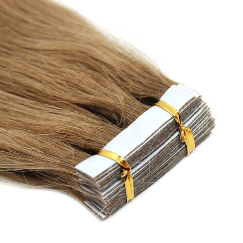 20pc  Light Brown Tape-In Extensions