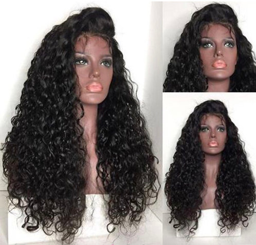 9A Mink Custom Lace Front Curly Wig 20inch