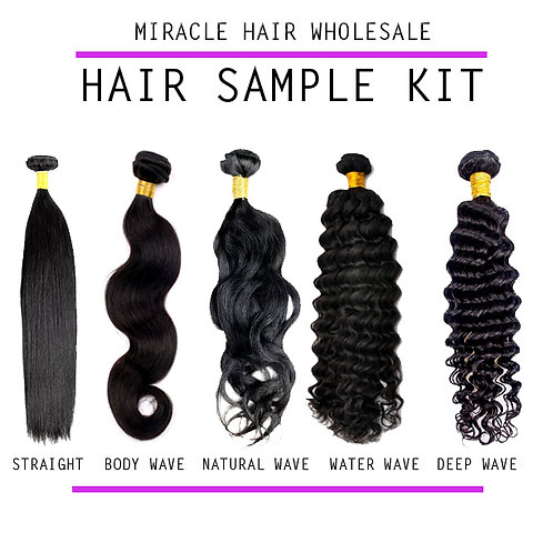 Miracle Mink Hair Sample Kit