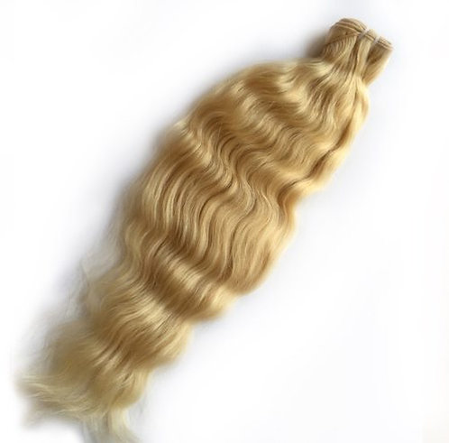 Blonde Natural Wave Raw Indian Hair