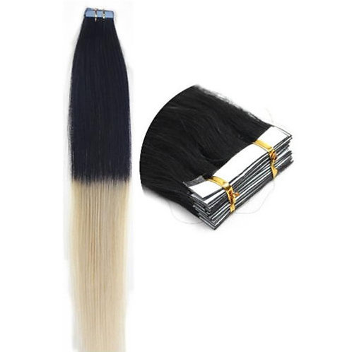 20pc Ombre T1/613 Tape-In Extensions