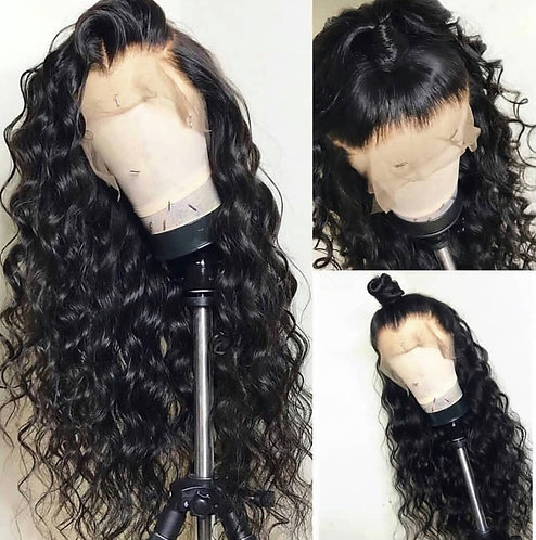9A Mink Full Lace Natural Wave Wig (10-22)