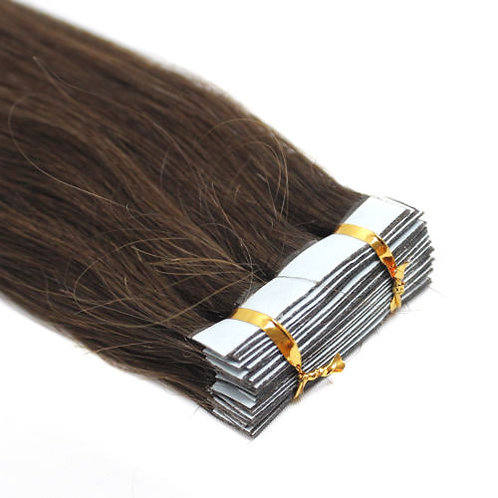 20pc Dark Brown Tape-In Extensions