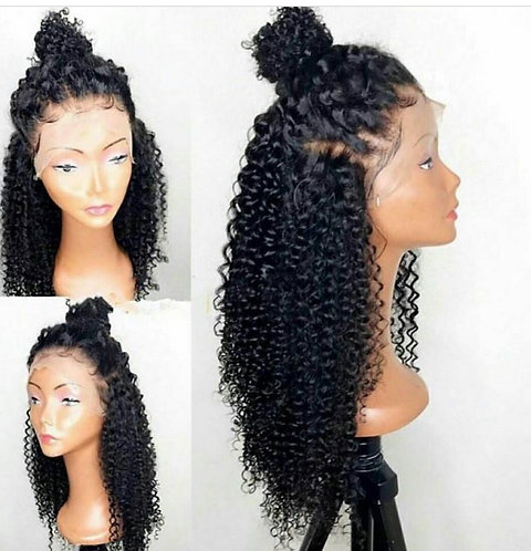 14inch Deep Wave Lace Front Wig