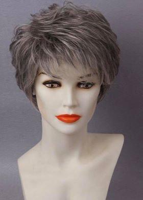 9A Grey Soft Layered Wig