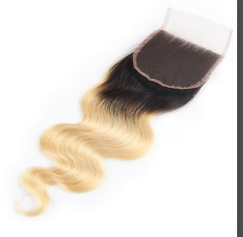 Miracle Hair Wholesale 1B 613 Body Wave Closure