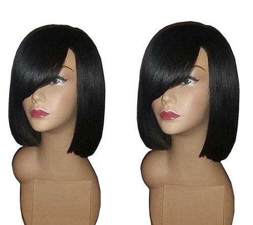 9A 8 inch What's My Name Bob Style Wig