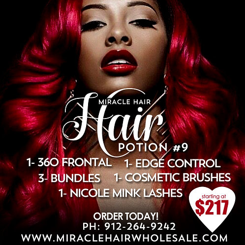 Miracle Hair Wholesale Hair Potion #9