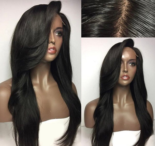 "20"" 360 Frontal Straight Wig"