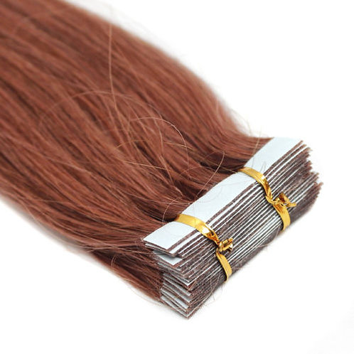 20pc Auburn Tape-In Extensions 50g
