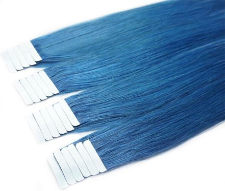 20pcs Blue Tape-In Extensions 50g