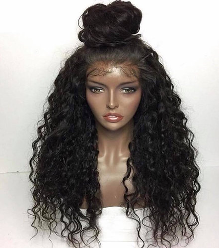 Natural Wave Mink Lace Front Wig 16inch
