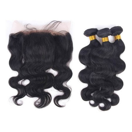 Body Wave 3 Bundles w/ Frontal