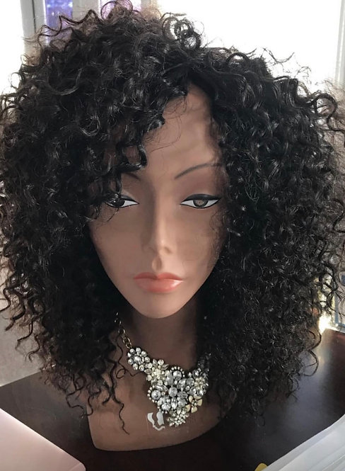 Miracle Hair Wholesale 12 Inch 9A Bohemian Curly Wig