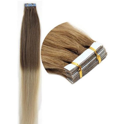 20pc Ombre T12/613 Tape-In Extensions