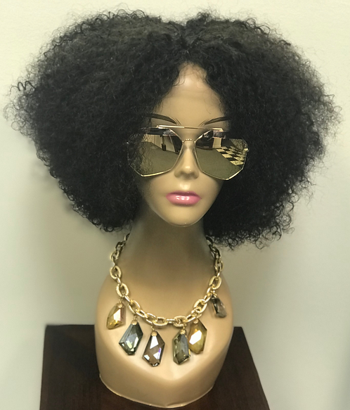 9A 10inch Yaki Afro Wig