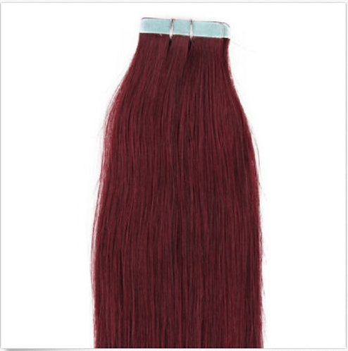 20pc Red Wine Tape-In Extensions