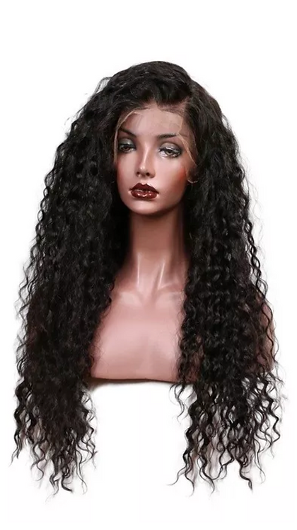 9A Kinky Curly Luxury Full Lace Wig