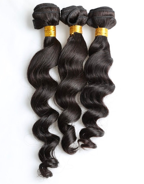 Miracle Hair Wholesale 7A Loose Wave Bundles