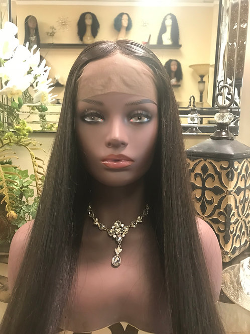 9A Mink Lace Front Wig Silky Straight (16-26)