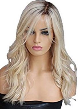 9A Long Layered Blonde Lace Front Wig (10-22)