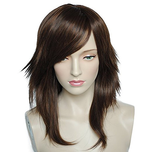 Sheena  Brown Ombre Synthetic Wig
