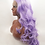 Thumbnail: 9A Perky Soft Purple Front Lace Body Wave Wig
