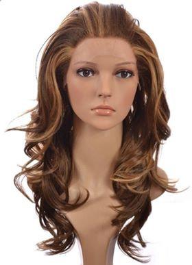 9A Mink Lace Front Auburn Ombre Wig (10-22)