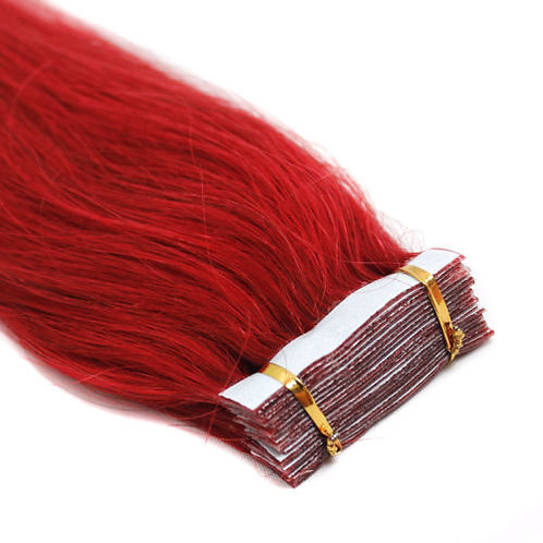 20pc  Red Tape-In Extensions