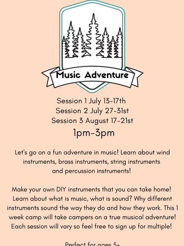 Music Adventure Camp