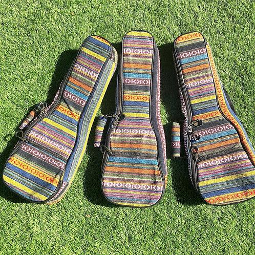 Colorful Soprano Ukulele Soft Case