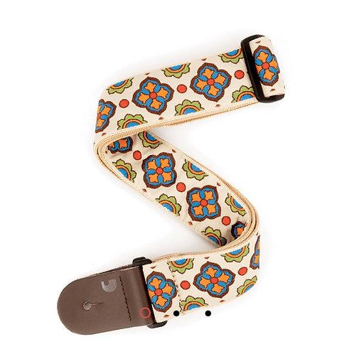 Latin Tile Art Guitar/Bass Strap