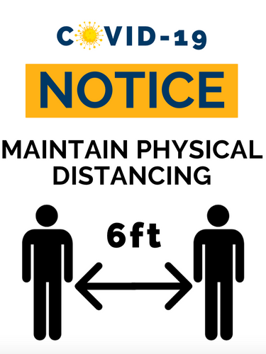 Maintain Physical Distancing