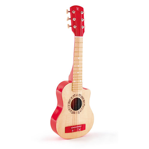 RED Guitar- by Hape