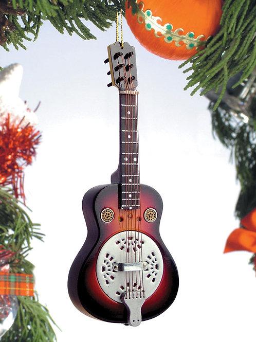 Resonator Guitar Ornament