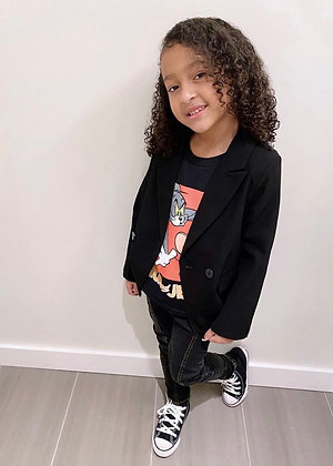 Amir blazer (BLACK)